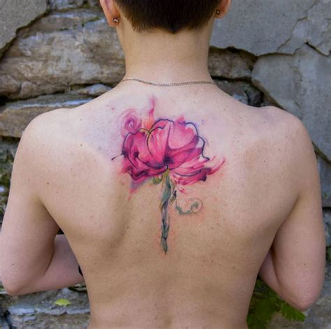 watercolor tattoos over time 40 wonderful watercolor tattoos for tattooblend