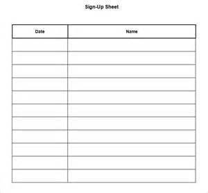 Potluck sign up sheet is a printable sign up template with minimal and