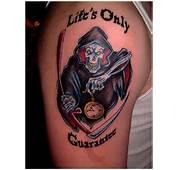 35 Horrifying Grim Reaper Tattoo Designs