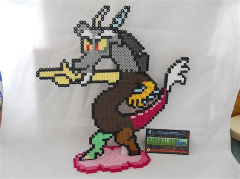 discord zoomed in my little pony fim discord bead sprite
