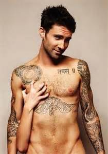 Sexy Adam Levine Tattoos