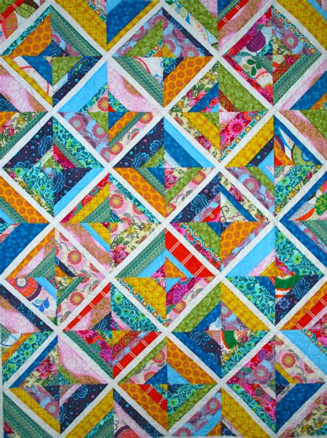 String Quilt Patterns by Wonderful Voile String Quilts Ginabeanquilts