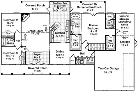 western style house plans western style comfort in multiple versions 5139mm 1st