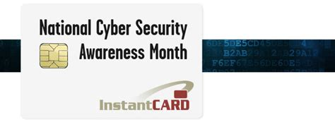 happy national cyber security awareness month instantcard