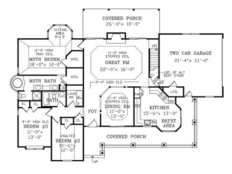 New Country Homes Floor Plans by Country House Designs And Floor Plans House Design