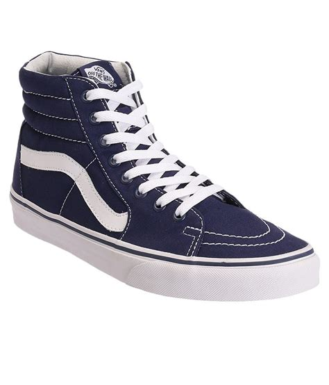 Vans Sk8 High Quality Casual Made In vans sk8 hi blue casual shoes buy vans sk8 hi blue casual shoes at best prices in india