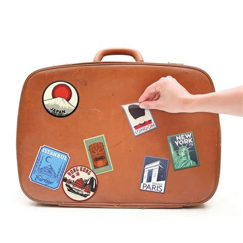 Kofferaufkleber Basteln by Vintage Kofferaufkleber Geschenkidee De