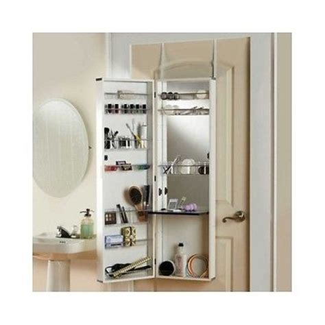 over the door bathroom storage over the door mirror make up cosmetic medicine cabinet