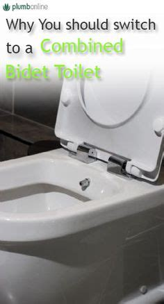 Combined Toilet And Bidet System by Toilet And Bidet Combination In Modern Bathroom