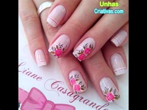 dise 241 os de u 241 as decoradas con flores nails art imagenes de u 241 as decoradas para ni 241 a im 225 genes de u 241