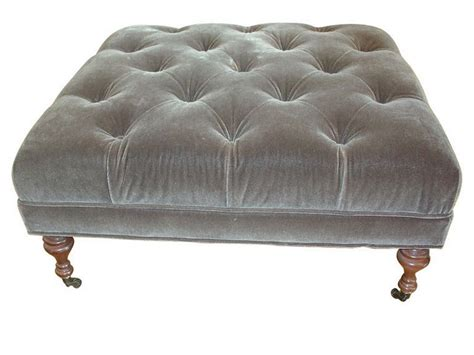 Large Tufted Ottoman Large Tufted Ottoman Home Design Ideas