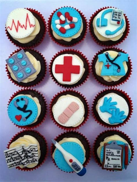 Nursing Cupcake Decorations by Cupcakes By Cupcakes For You Cakes