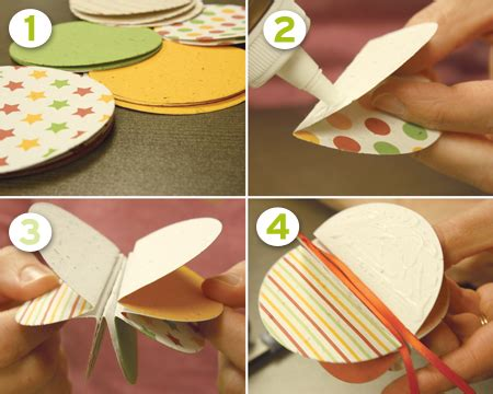 how to make kids christmas ornaments step by step diy plantable paper ornaments botanical paperworks