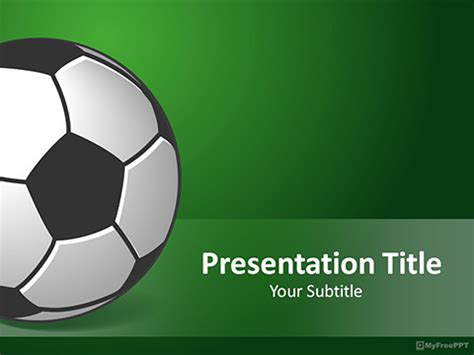 free soccer powerpoint template free soccer goal