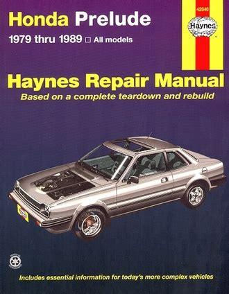 best auto repair manual 1984 honda prelude engine control honda prelude repair manual 1979 1989 haynes 42040
