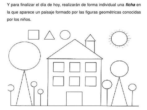 figuras geometricas actividades para preescolar u d matematicas para preescolar