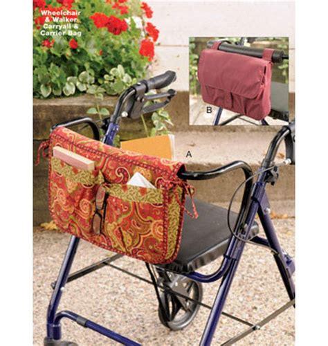 free pattern walker bag k3927 wheelchair walker carryall carrier bag bags