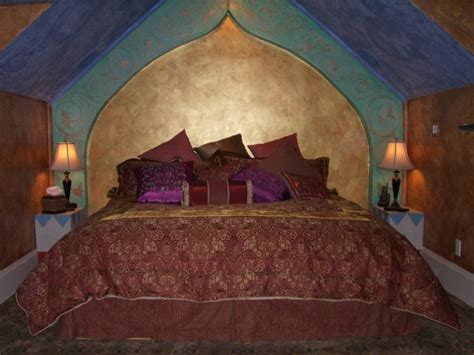 arabian bedroom arabian nights anniversary inn eclectic bedroom