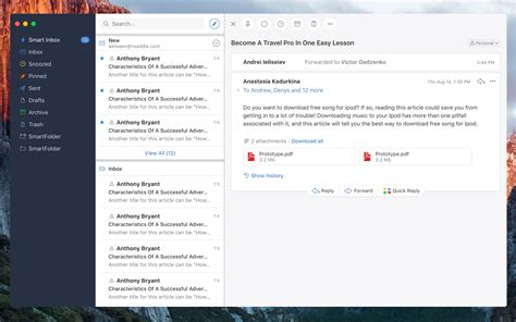 best email client windows alternatives to the best mac email client in 2018