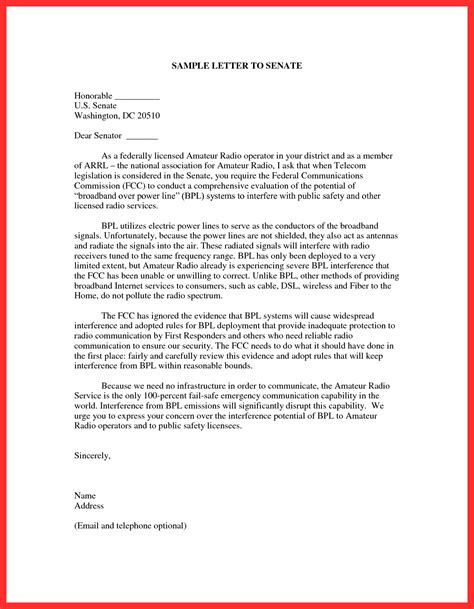 letter to a congressman template letter to congressman template exles letter templates