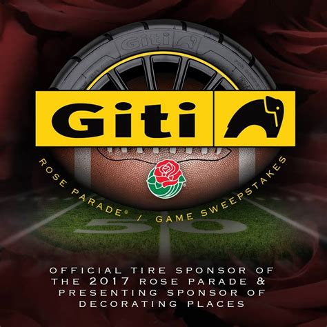 Tire Sweepstakes - rose bowl archives giti usa