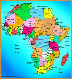 political map of country 7 africa map countries coaching resume