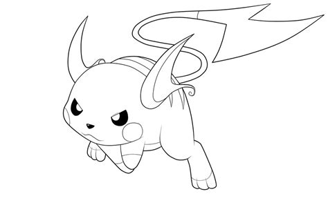 raichu coloring page chibi raichu coloring pages coloring pages