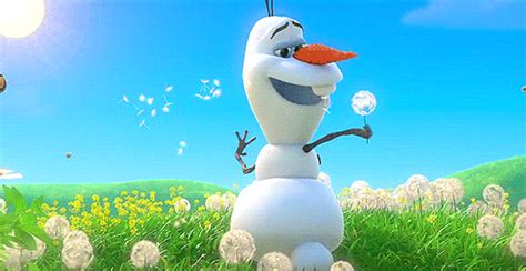 wallpapers frozen gif snowman animated gif 2695185 by miss dior on favim com