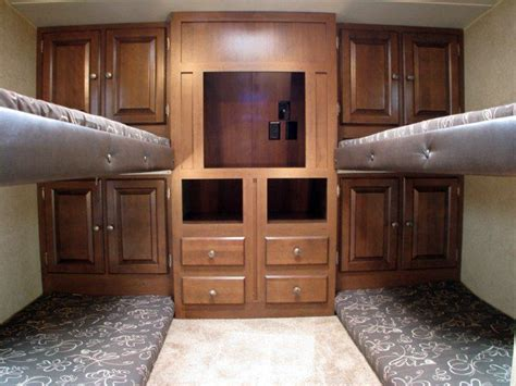 Rvs With Bunk Beds Rv Floor Plans With Bunk Beds Trailer Board Lounge Areas The O Jays And Beds