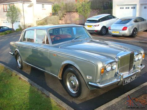 silver bentley bentley t1 1976 silver with red leather great condition