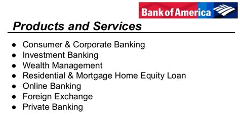 Bank Of America Consumer Banking Mba Program Salary by Bank Of America Valuation Report 2