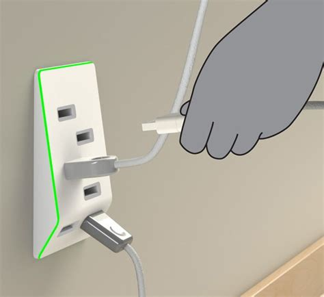 Usb Bolt bolt usb outlet it prevents by informing the user of the electrical capacity