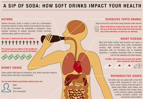 ill effects how soda pop consumption affects your