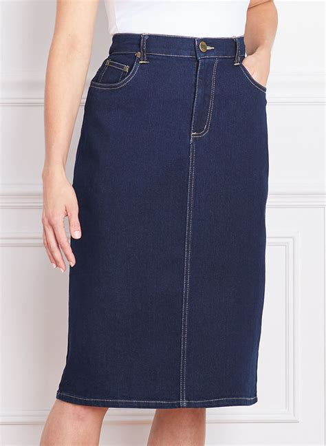 colored denim skirts bend 174 colored denim skirt amerimark