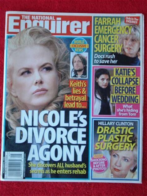 burlington writers national enquirer magazines