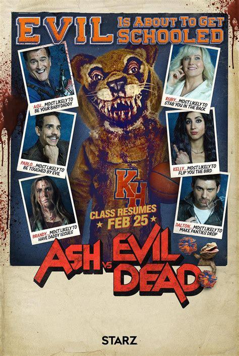 ash  evil dead season  poster