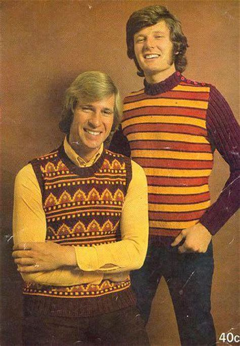 Backtothe Sweater a field guide to 1970s s sweaters flashbak