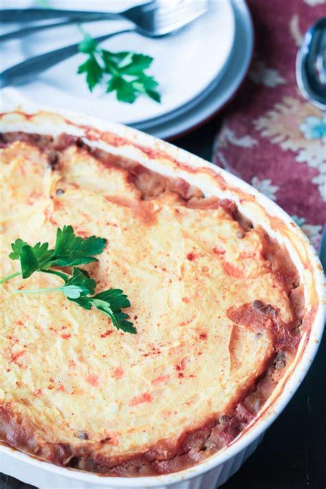 Vegetarian Cottage Pie Oliver Lentil Vegetarian Cottage Pie Dairy Free Gluten Free