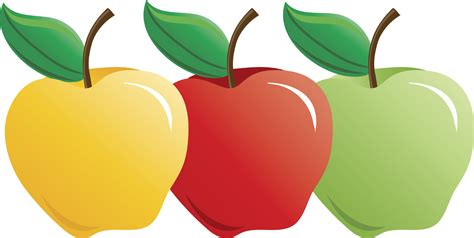 apple clipart clip apple types clipart