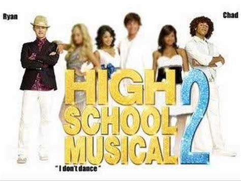 high school musical hey batter batter swing i don t dance hsm 2 chad ryan complete song youtube