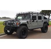 Hummer H1 Police Car Slantback Front