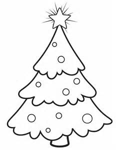 Free Printable Christmas Tree Coloring Pages sketch template