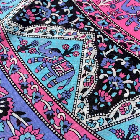 pattern for a fabric shawl mandala fabric shawl elephant pattern my yoga lifestyle