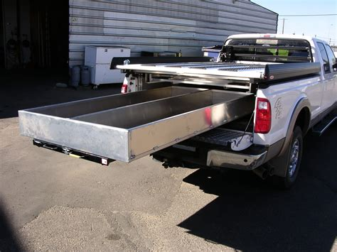Slide Out Truck Bed Storage by Truck Bed Slide Out Drawers For Survey Trucks Cargo Bed