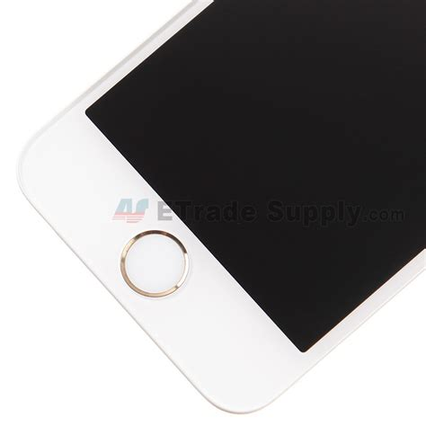 Lcd Iphone 5s Gold apple iphone 5s lcd assembly with frame and home button gold etrade supply