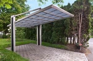 Each carport is made of coloured steel or zinc aluminium coated steel