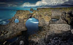 Natural coast arch wallpaper   1288683