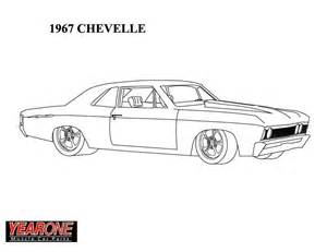 Chevy Chevelle Coloring Pages sketch template