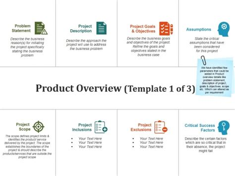 Project Overview Template Project Scope Template Word Overview Templates To Download Project Project Overview Template Powerpoint