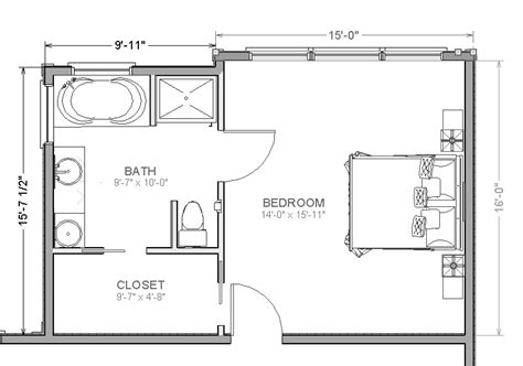 master bedroom suite addition floor plans house plans